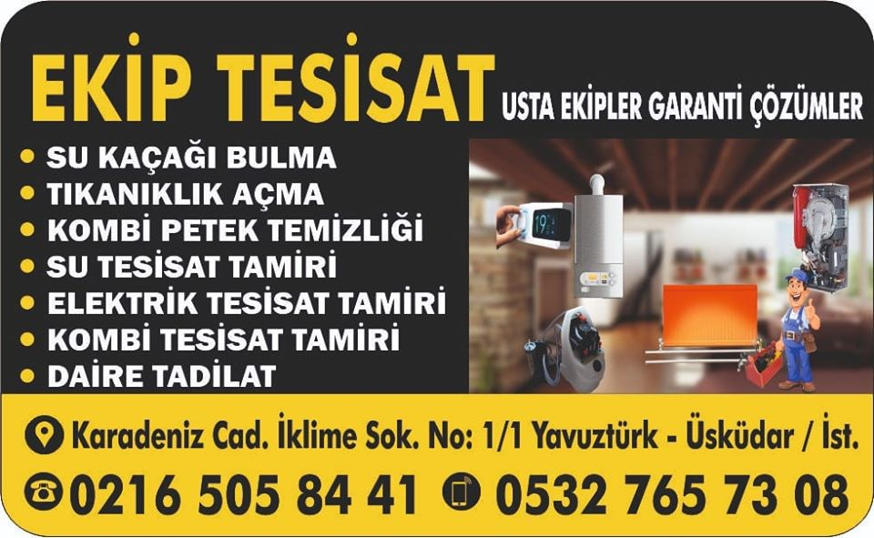 Ataşehir Su Tesisatı Tamiri